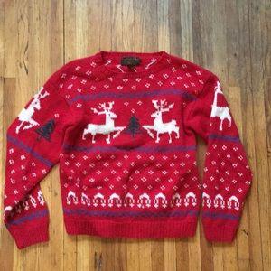 Vintage Eddie Bauer, 100% wool sweater